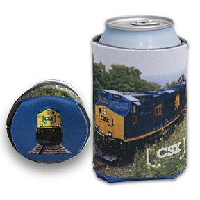 Full Color Collapsible Can Cooler