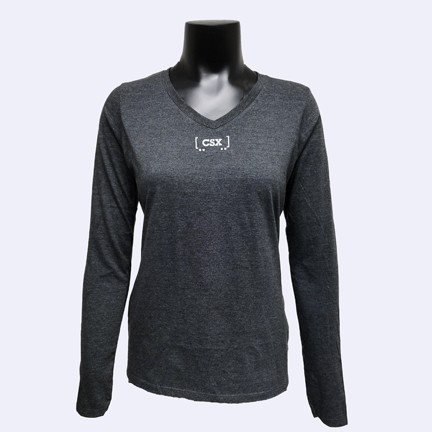 Ladies Long Sleeve Railcar T-Shirt.