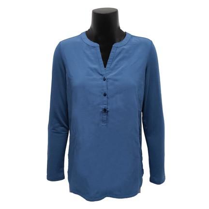 Ladies Henley Tunic Shirt