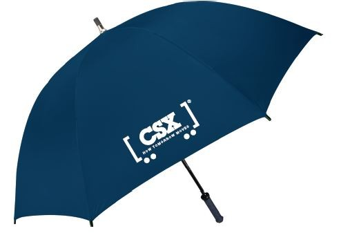Deluxe Navy Golf Umbrella
