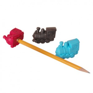 Locomotive Pencil Top Eraser