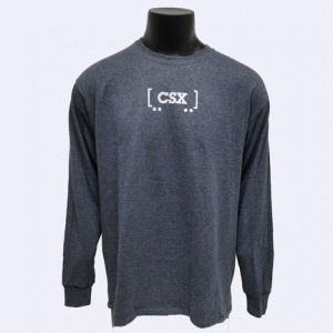 Long Sleeve Railcar T-Shirt.