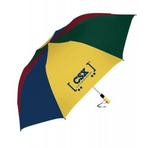 Multi Colored Folding Umbrella
