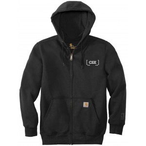 Carhartt Rain Defender Paxton Heavyweight Hooded Zip Front Sweatshirt